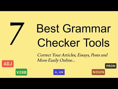 7 Best Free Grammar Checker Tools To Correct English Writing Errors