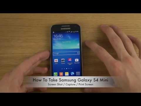 como hacer capture de pantalla en samsung galaxy s3 mini