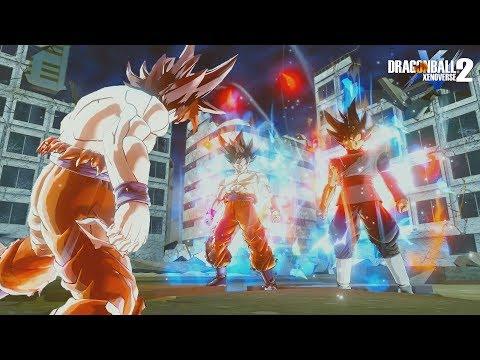 Goku SSJ 1-2-3-4-5-SSG-SSB-SSBK20-Limit Breaker And Ultra Instinct (SO EPIC)   DB Xenoverse 2 Mod PC