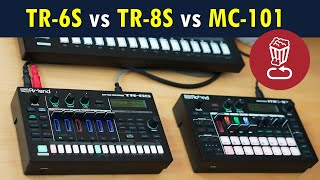 Roland TR-6S vs TR-8S vs MC-101 // Review and full workflow tutorial