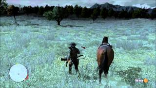 Xbox 360 Walkthrough - Red Dead Redemption - Picking All Sorts Of Flowers