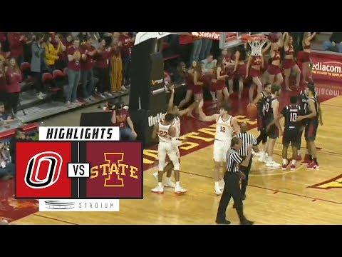 Omaha Vs. Iowa State Basketball Highlights (2018-19) | Stadium