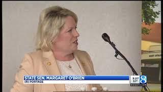 Senator Margaret O'Brien presents $1.5 million check to Unified Clinics of WMU
