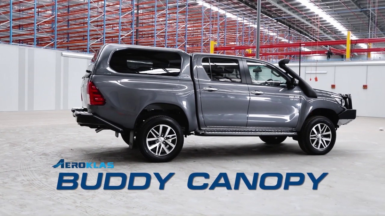 Introducing the Aeroklas Buddy Canopy | 4x4 Vehicle Canopy