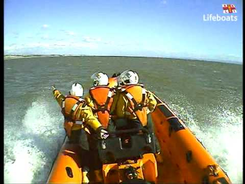 Porthcawl RNLI rescue a 12 year old boy swept out to sea