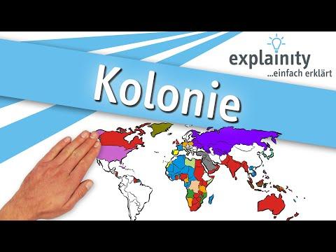 Kolonie einfach erklärt