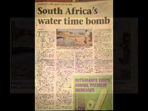 South Africa s Water Time Bomb   The Predictions of Siener van     South Africa s Water Time Bomb   The Predictions of Siener van Rensburg