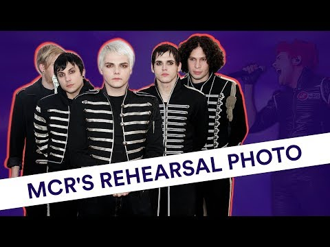 Hudson - First photo of all four members of My Chemical Romance together since 2017!