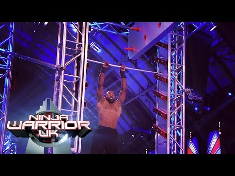 Sebastien Foucan's SHOCK timeout  Ninja Warrior UK