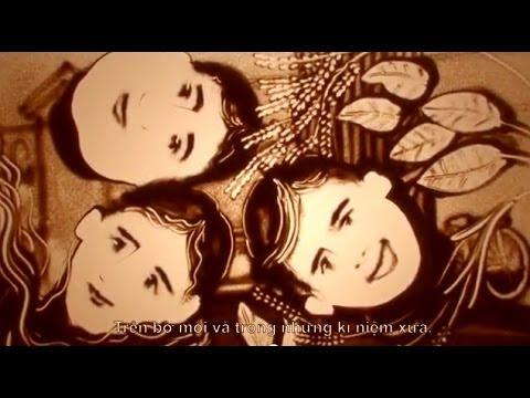 Mong ước kỷ niệm xưa - Nghệ thuật vẽ Tranh cát