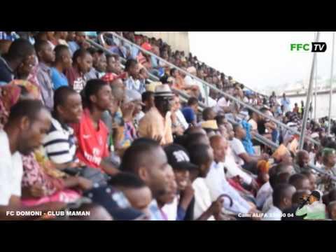 Phase Nationale Championnat féminin ) Fc Domoni Vs Club Maman  Stade de Moroni 05/04/2017