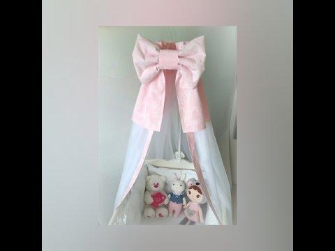 Как сшить балдахин на кукольную кроватку