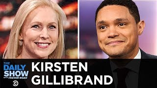 Kirsten Gillibrand - Her Presidential Campaign & The GOP's War Against Roe v. Wade | The Daily Show