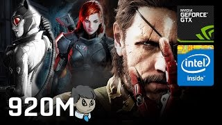 920M Gaming \ 15 Games in 10 Min \ CS:GO GTA V BF4 Skyrim and more