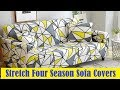 24 colors Stretch Four Season Sofa Covers Furniture Protector Polyester Loveseat Couch Cover