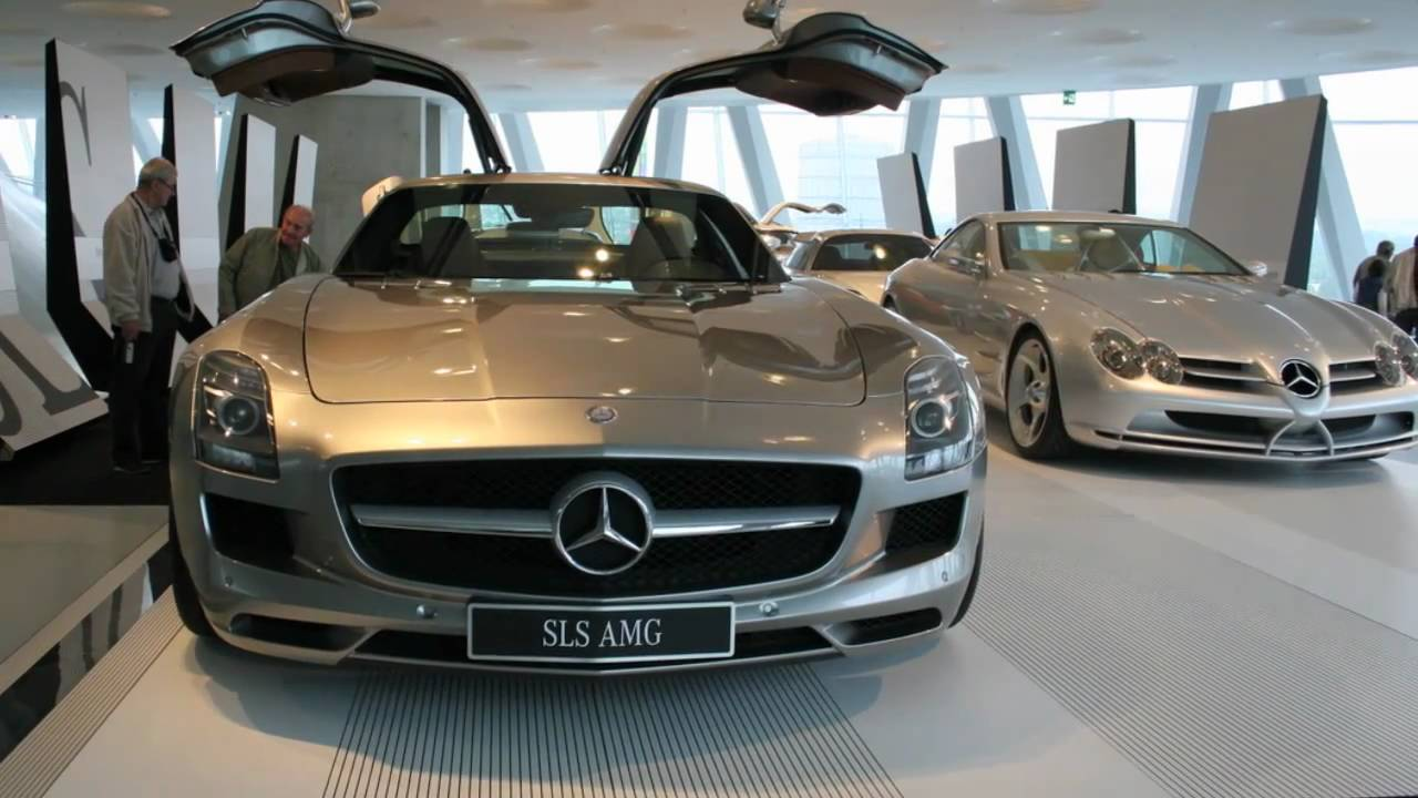 Museo Mercedes Benz.Mercedes Benz Museum Virtual Tour 2010 Youtube