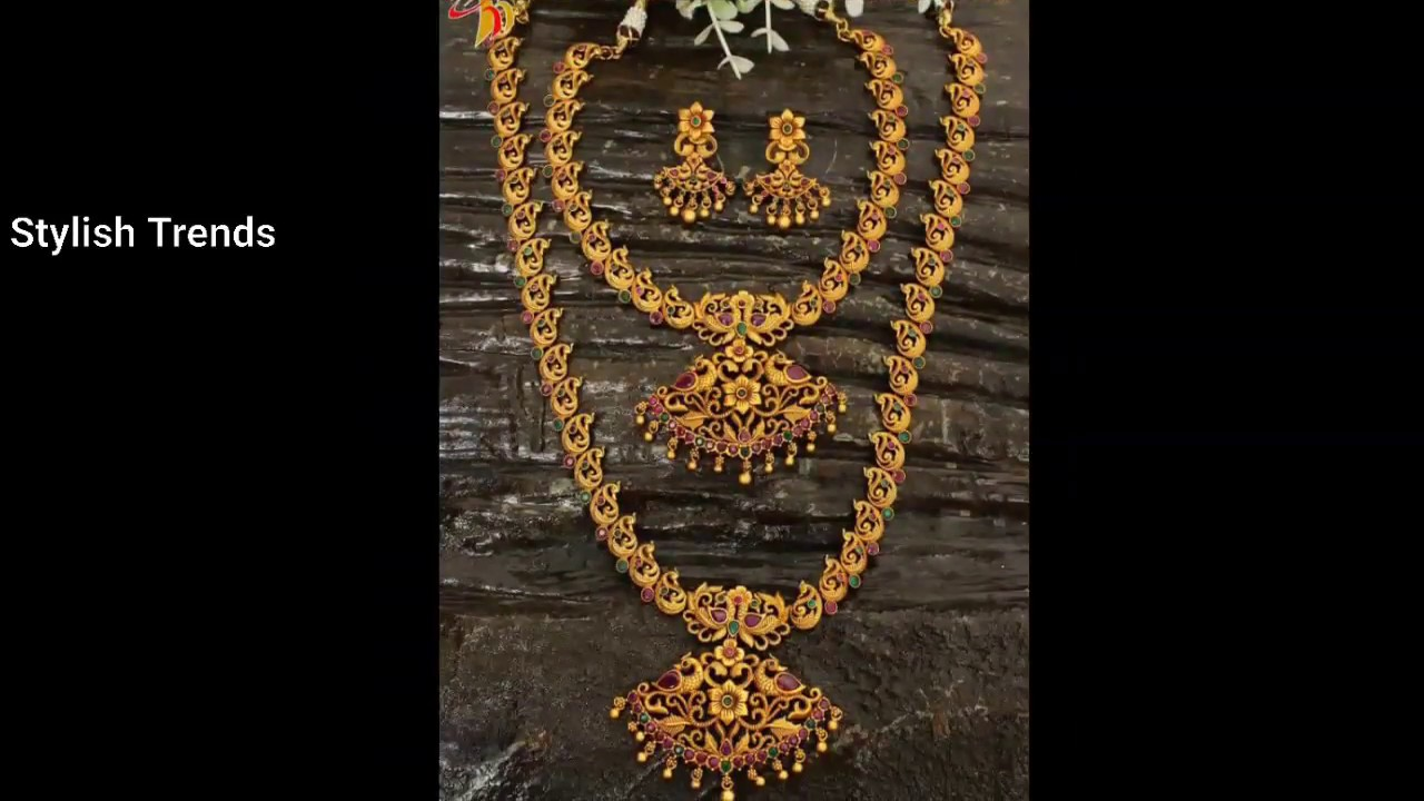 Latest 1gram gold Temple Jewellery Designs Price less than Rs 1000 - 2000