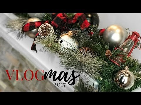 VLOGMAS | 2017 DAY 1 TRANSFORM OLD ORNAMENTS INTO NEW