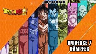 Universe Survival Arc: Die Kämpfer - Dragon Ball Super