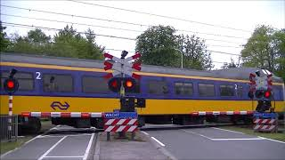 Spoorwegovergang Glimmen // Dutch railroad crossing