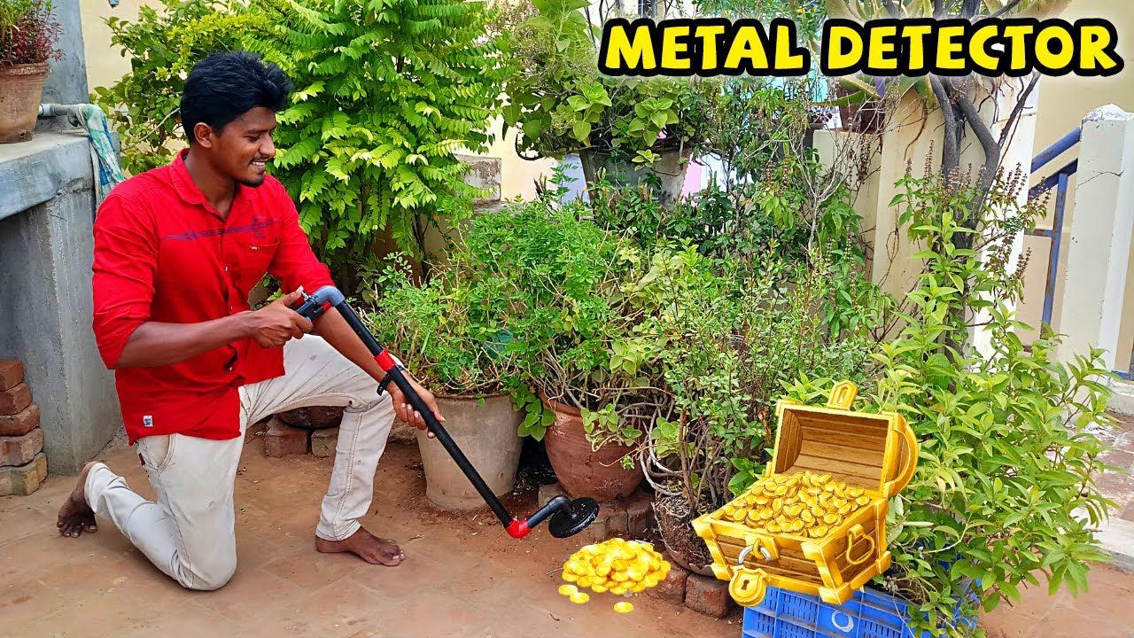 How to Make Metal Detector   Treasure Hunting   புதையல் வேட்டை   Vijay Ideas
