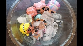 LOL Surprise Dolls in Ice Water August 2020