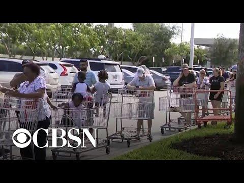 Officials urge Floridians to prepare for Dorian