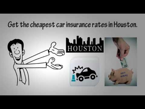 Cheapest Car Insurance Rates Houston - Compare Now