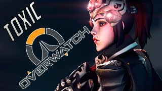 OVERWATCH TOXIC PLAYERS GET OWNED BY WIDOWMAKER MASTER