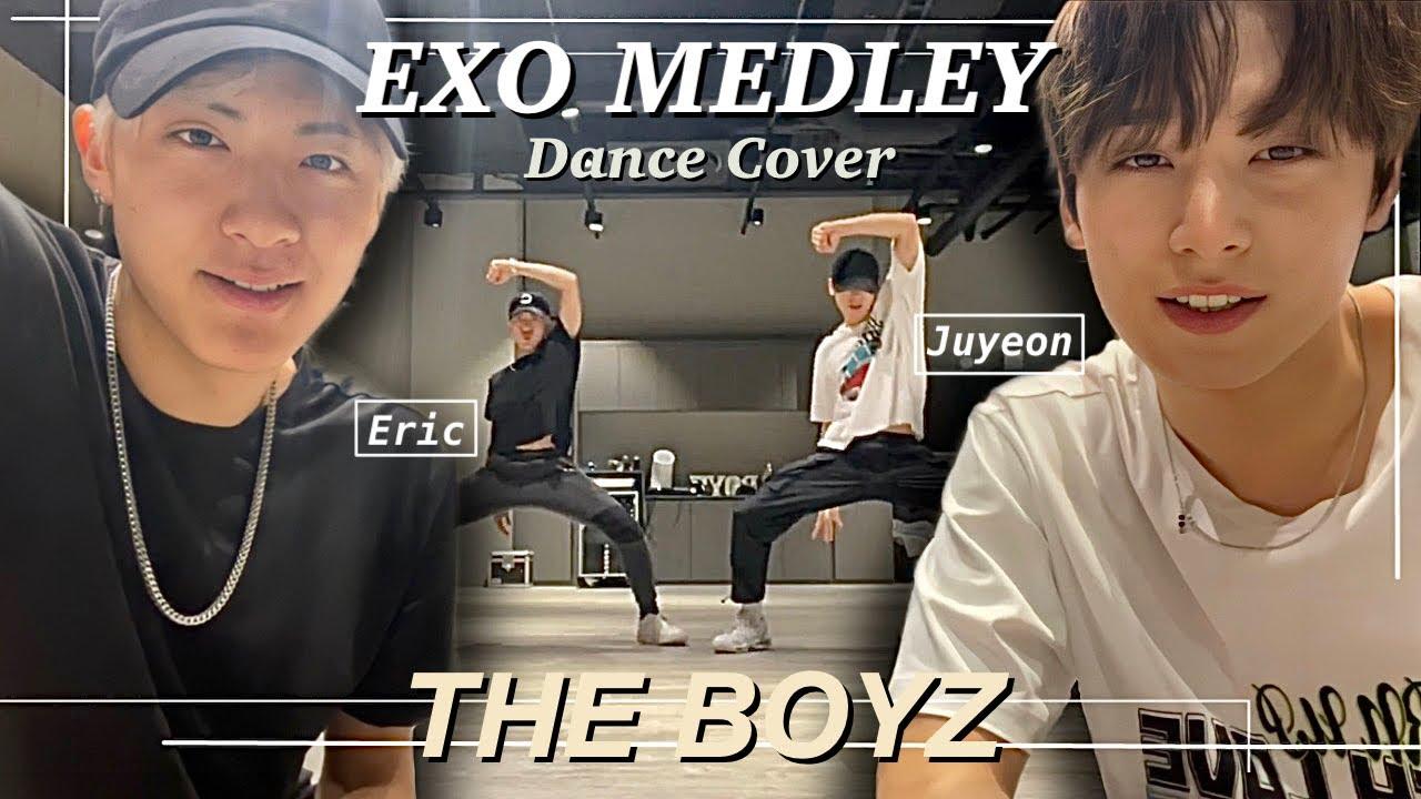 THE BOYZ Juyeon & Eric - EXO Dance Cover