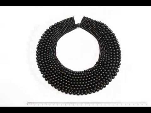 Колье - воротник из бисера/ Бисероплетение / Necklace - collar of beads.