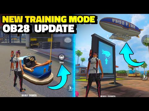 10 UPCOMING CHANGES IN TRAINING MODE AFTER UPDATE IN FREE FIRE - BROKEN JOYSTICK
