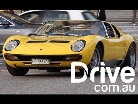 Driven Lamborghini Miura Sv Drive Com Au Youtube