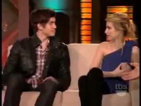 Emma Roberts & Carter Jenkins gets interviewed on Lopez ...