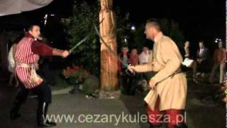 Pojedynek na szable - Cezary Kulesza