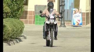 DERBI TERRA ADVENTURE TUNEZ 2009 en TV Castilla y Leon