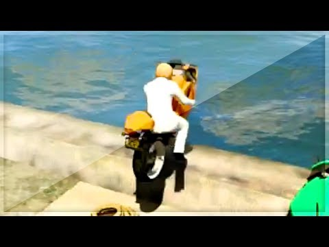 GTA 5 Funny Moments - Water Stunt For...