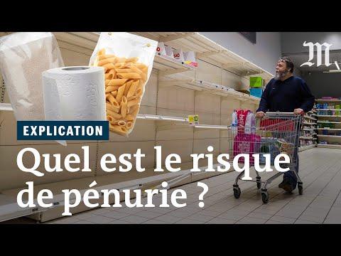 Coronavirus: bientôt la pénurie dans les supermarchés ? (Pas vraiment)