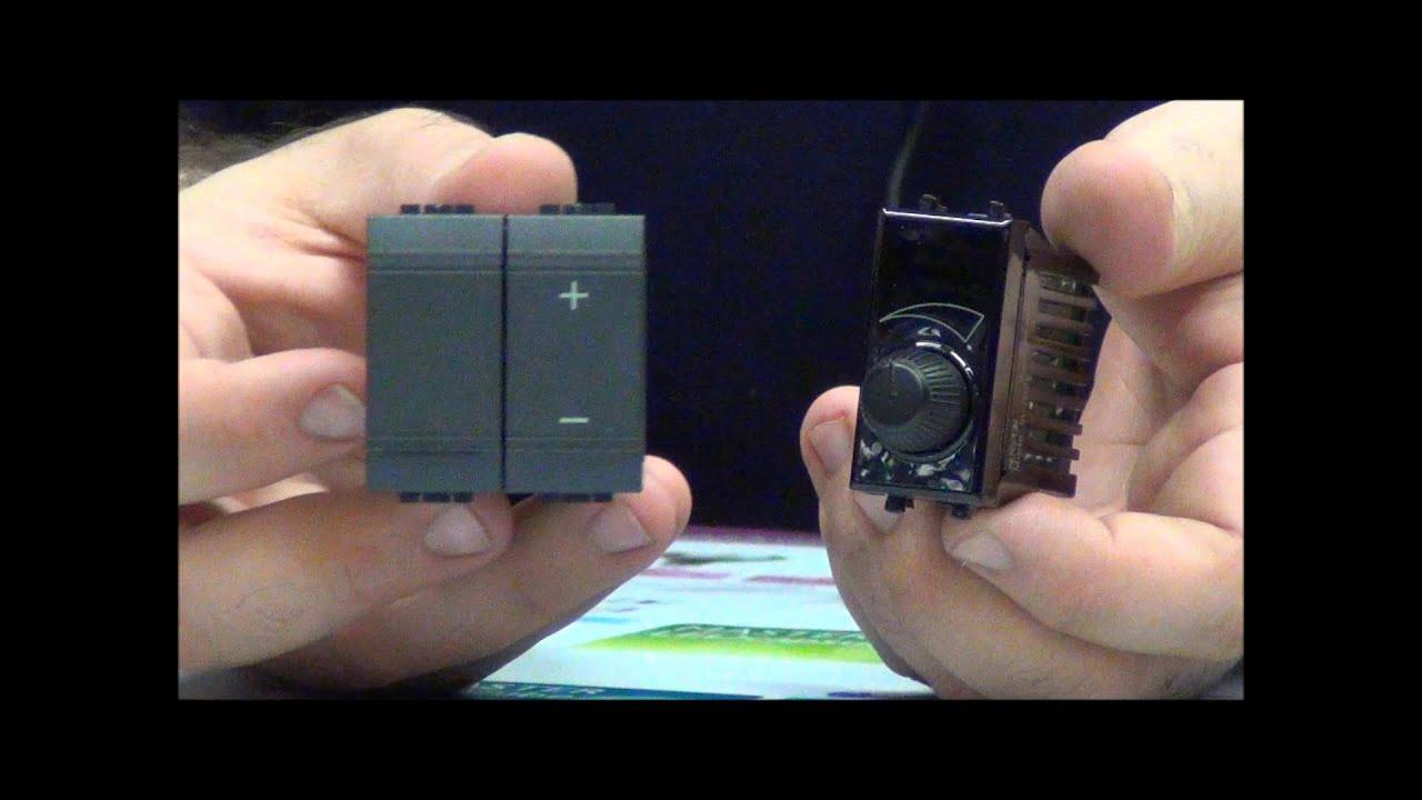 Schema Elettrico Dimmer : Varialuce o dimmer pillola n di materiale elettrico