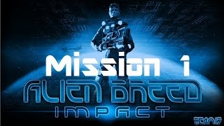 """Alien Breed: Impact Ps3 CooP Mission 1 """"Medical"""""""