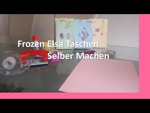 Frozen Elsa Tasche selber machen