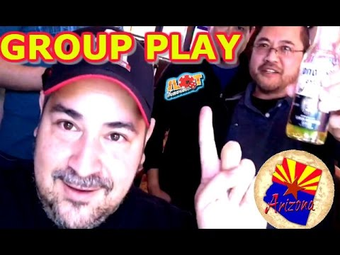★ FIRST ARIZONA SLOT MACHINE GROUP PULL ★ HIGH LIMIT & MAX BET AT WILD HORSE - 동영상