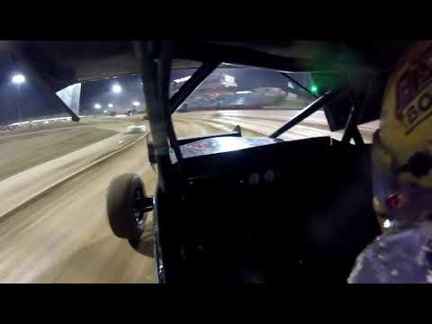 #17 Josh Baughman - ASCS 360 Sprint - 9-19-19  Lucas Oil Speedway  - In Car Camera