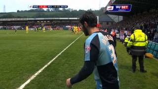 Wycombe (5) 2-1 (3) Plymouth - Sky Bet League 2 Season 2014-15