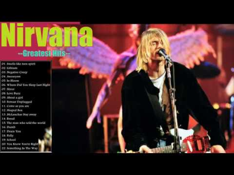 Nirvana Greatest Hits Full Album_The Best Songs Of Nirvana Nonstop Playlist