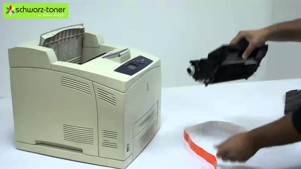 Xerox Phaser 4500 Toner Cartridge Replacement - user guide (113R0065)