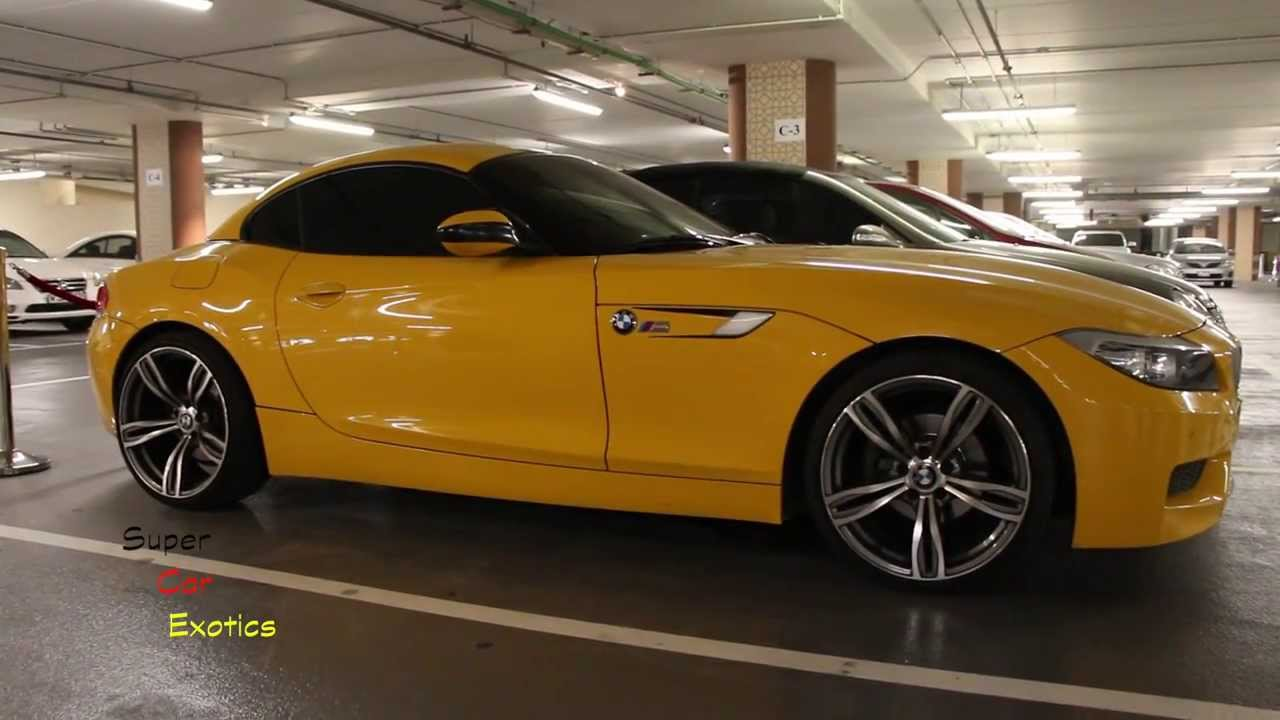 Fake But Still Nice Bmw Z4 M Yellow Youtube
