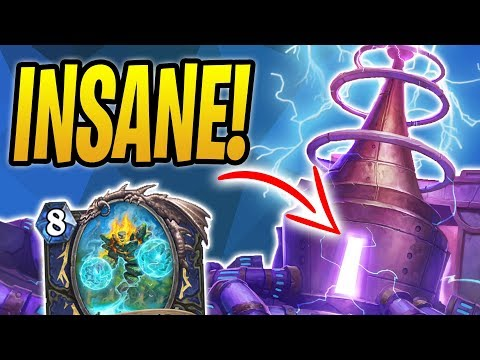 The Most INSANE Storm Bringer! | Storm Bringer Shaman | The Boomsday Project | Hearthstone