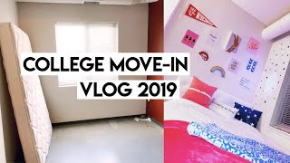 COLLEGE MOVE-IN VLOG 2019 | University of Wisconsin