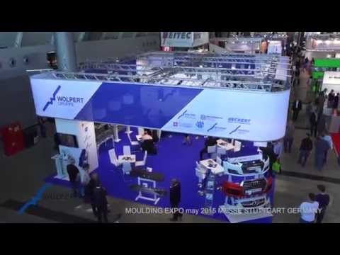 Video stand WOLPERT MOULDING EXPO 2015 MESSE STUTTGART.